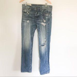 Mens Slim Straight Hollister Jeans